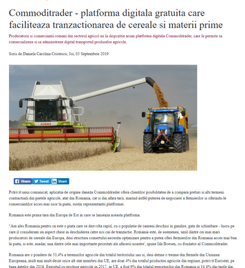 Press Release on AgroFood