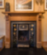 Crail Posthouse fireplace