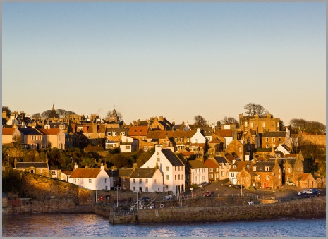 crail harbour winter