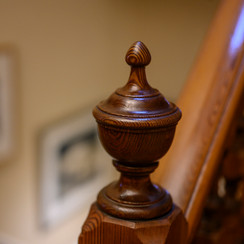 original pine staircase