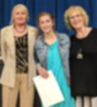 2019 Community Service and Lippi Scholar
