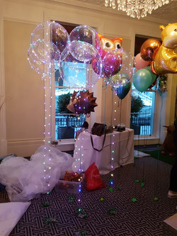 light up balloons and animals