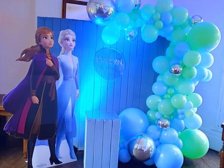 Frozen Birthday Balloons