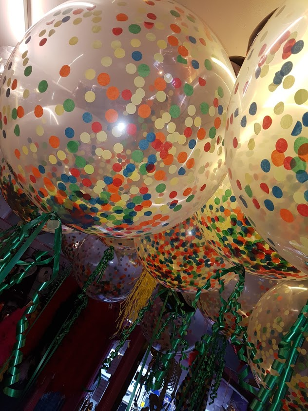 Woodland confetti 3ft balloons