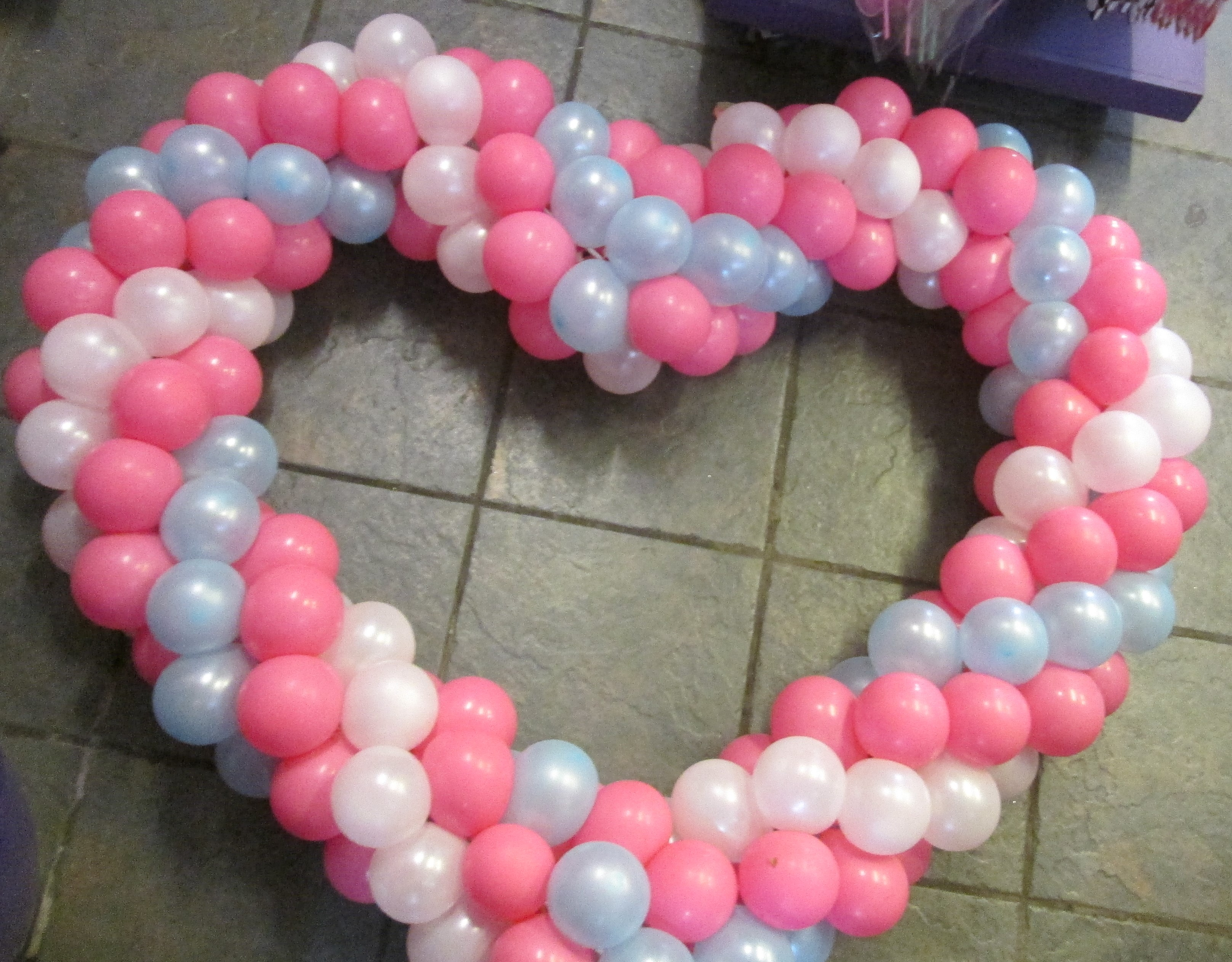Heart Frame for Baby Shower