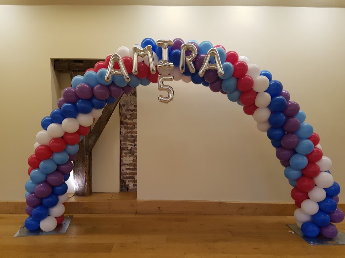 Balloon Arch Frozen Amira