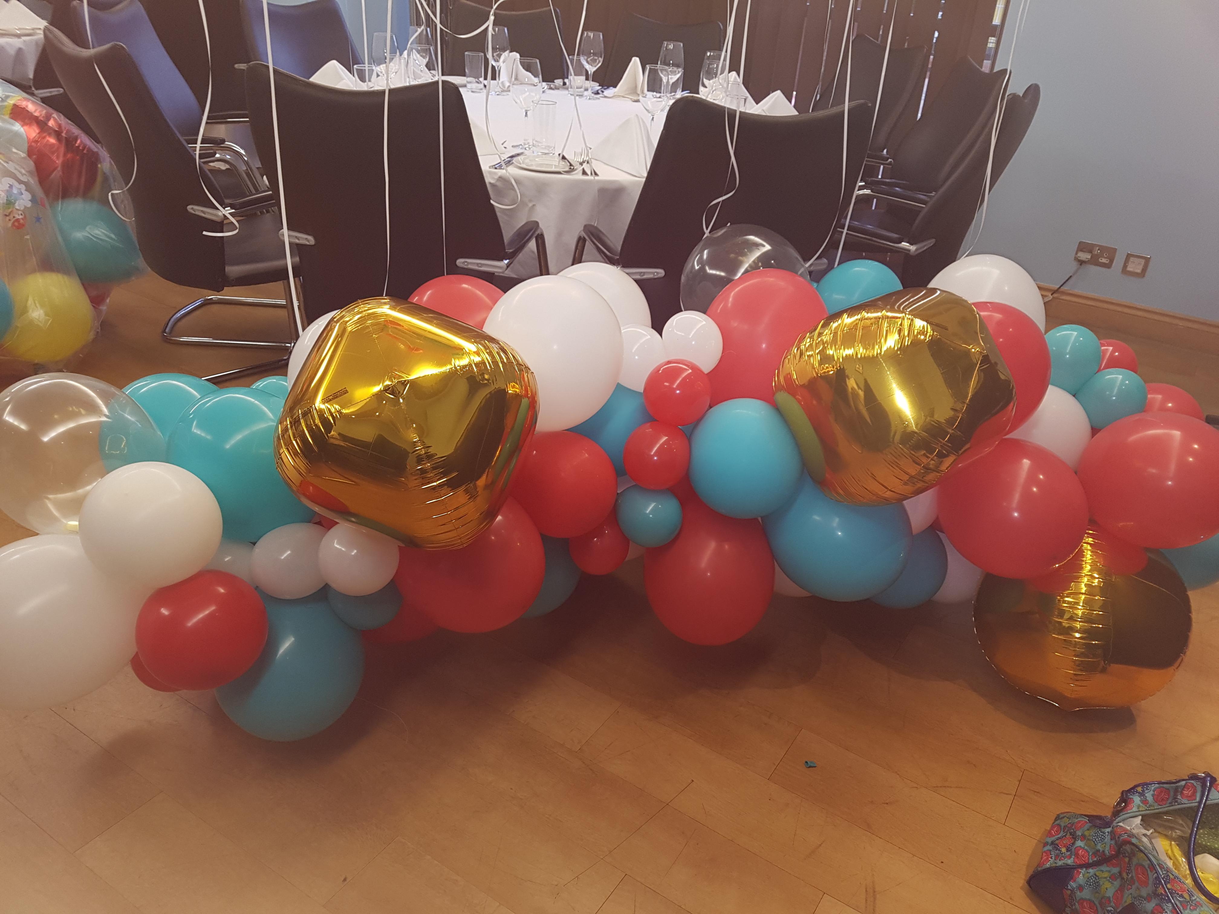 Carnival Balloon Arch