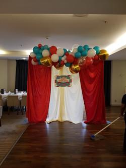 Carnival Balloon Organic banner