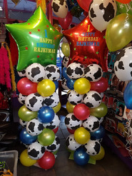 Animal cow print toy story towers