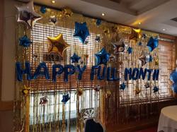 Happy Full Month Balloons