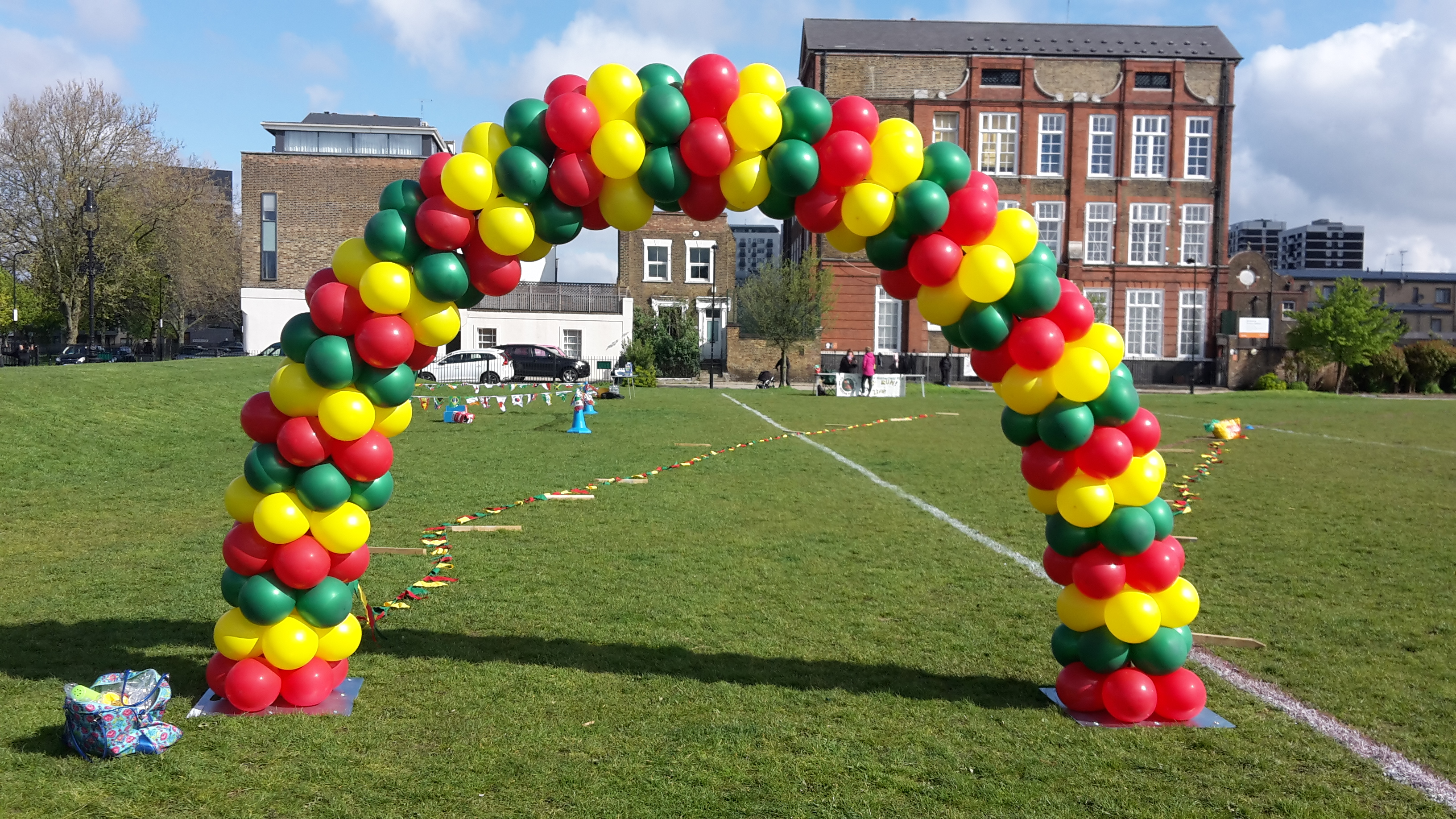 Balloon Arch school sports day