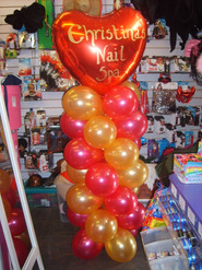 personalised tower for valentines