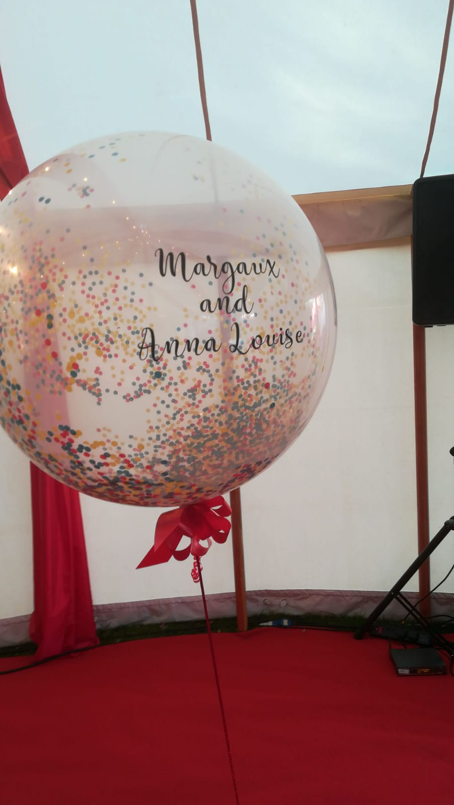 Confetti 3ft personalised Anna Louis