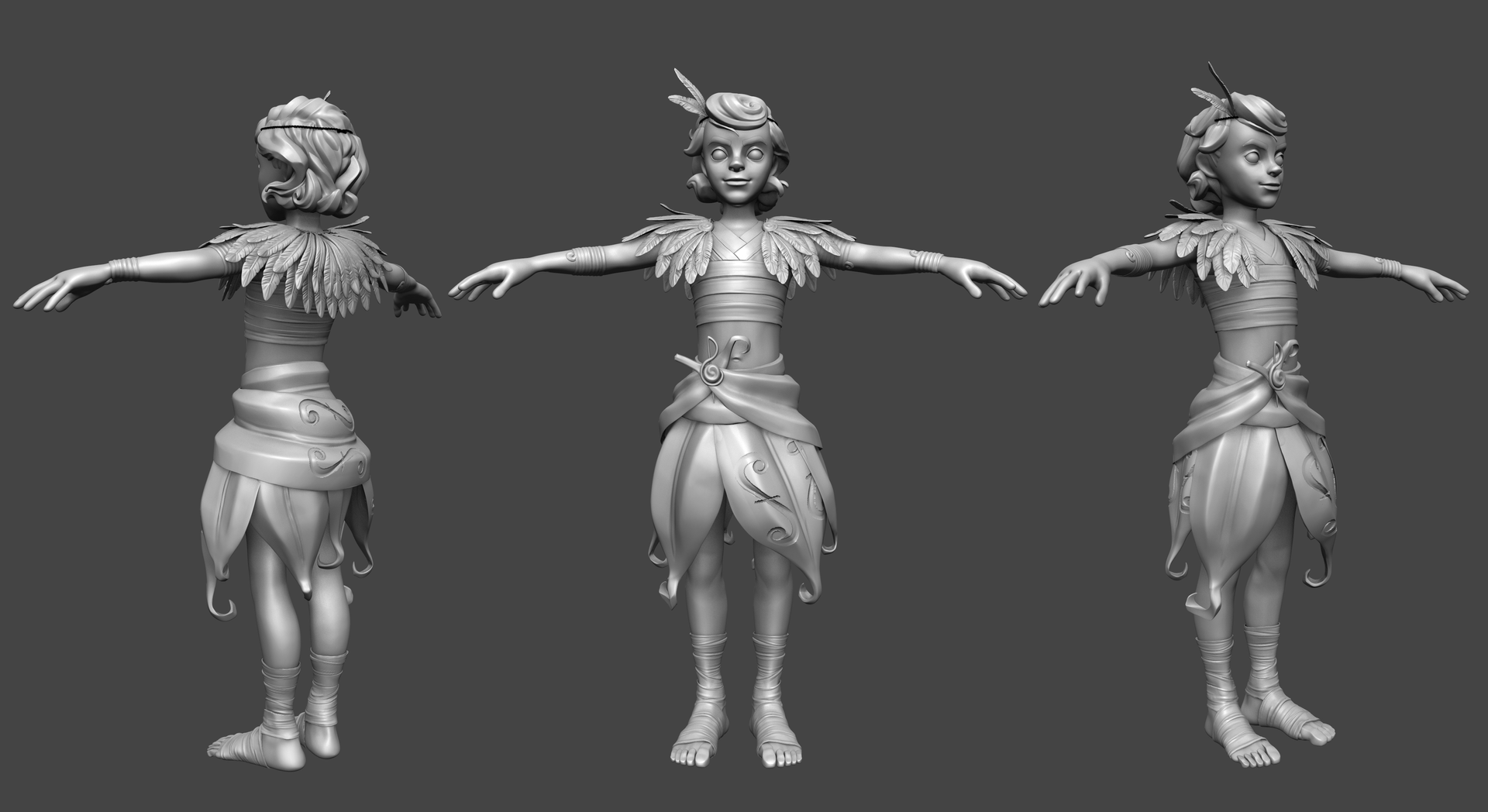 Papageno_HighPoly_Unposed_Turn