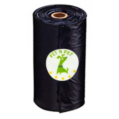 Пакеты биоразлагаемые гигиенические сменные, 1 рулон х 15 пакетов