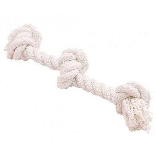 Канатный грейфер, 3 узла, белый Dental Knot, 350*16 мм