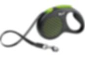 Рулетка Flexi Designtape-лентаM/L- для собак до 50кг.  Длина: 5 метров