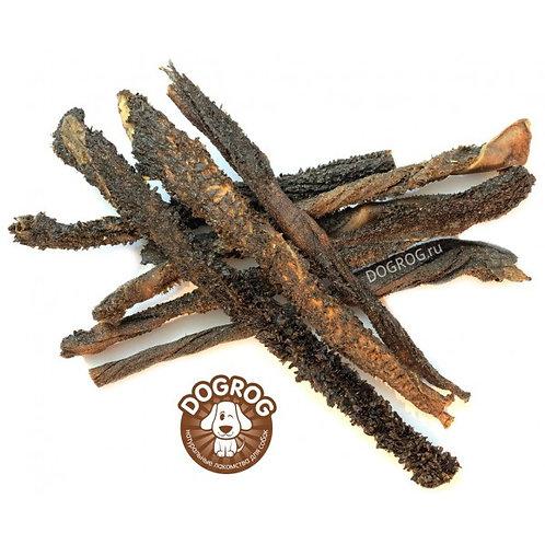 Рубец (желудок) сушёный северного оленя, 100 гр.