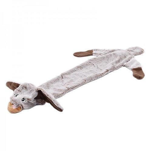 Шкурка ослика, мягкая игрушка для собак с пищалкой, 67 см
