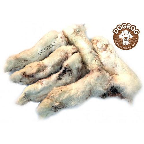 Лапы кроличьи сушёные, 100 гр.