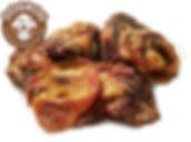 УХО ВНУТРЕННЕЕ сушёное говяжье Идеально подходит для ВСЕХ пород собак.  Этот деликатес получается путем среза с основания ушной раковины тонкимиломтиками. Состоит из хрящевой и соединительной ткани, употреблениекоторых помогает правильному формированию опорно-двигательного аппарата щенка, а также поддерживает в отличном состоянии суставы уже взрослого питомца! Рекомендовано для собак всехпород с 1,5 - 2 месячного возраста.