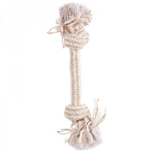 Канат (верёвка) с двумя узлами, бежевый, Zolux, 300 мм