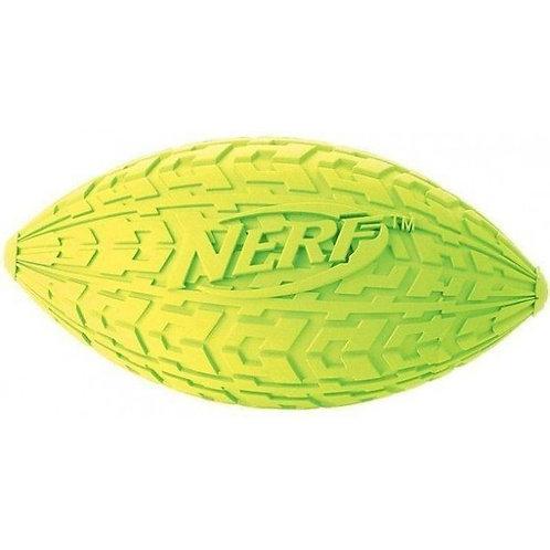 Мяч для регби резиновый пищащий, NERF, 100мм