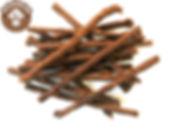 """МЯСНАЯ СОЛОМКА вяленая северного оленя Идеально подходит для ВСЕХ пород собак.  Мясная соломкавяленая северного оленябогата содержанием витаминов, аповышенная концентрация железа делает его очень важным для профилактики и лечения анемии. Мясная соломка северного оленяпридает собакесилы и увеличивает работоспособность.  Натуральные, сочные, аппетитные и ароматные """"колбаски"""" покорят сердце Вашего питомца. Мясная соломкавяленая северного оленя сделана из отборной и наисвежайшей оленины и приготовленыпо специальной технологии, благодаря которой в них сохранились все важные и полезные свойства. Состав: 100% мясо оленя Dogrog.ru"""
