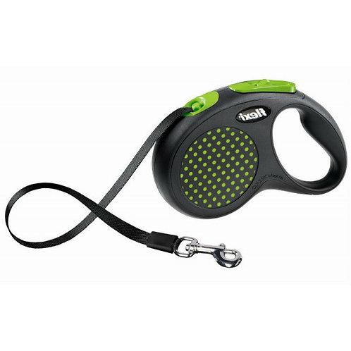 Рулетка Flexi Design tape - лента M/L - для собак до 50 кг, 5 метров
