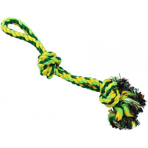 Канат грейфер с верёвочной ручкой, 2 узла, средний 40 см