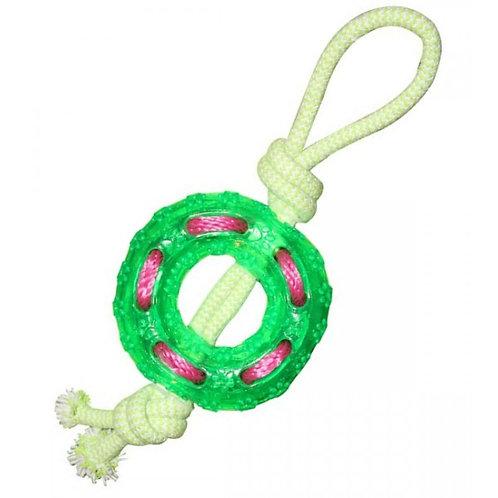 Кольцо с веревкой, игрушка для собак, 120*360 мм