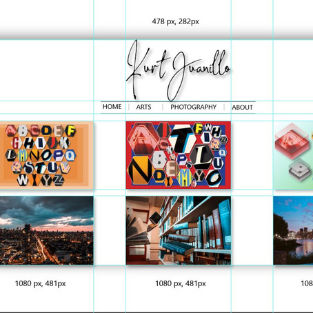 Website Layout Grids