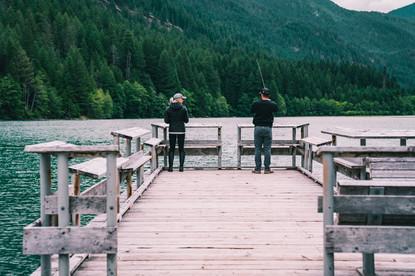 DIABLO LAKE COUPLE