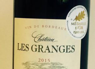 Chateau Les Granges Bordeaux 2015