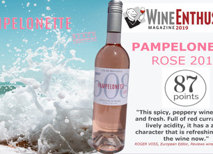 Pampelonette 87 Pts Wine Enthusiast