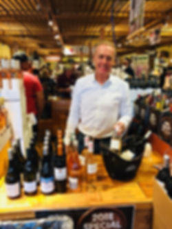 Christian Morenne at a Wine tasting, CA