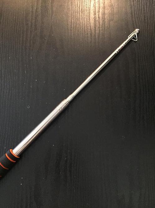 Retractable telescope rod