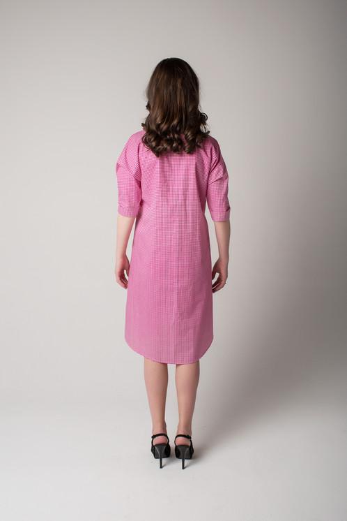 Платье из хлопка мнется