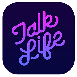 talklife-dark logo