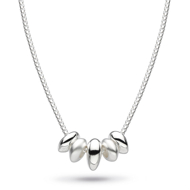 Coast Tumble Quinate Sandblast Necklace Sterling Silver Product code 90194SB  £72.00
