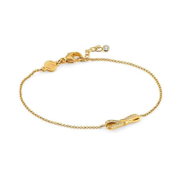 Nomination MyCherie Yellow Gold Bow Bracelet 146301/012 £40