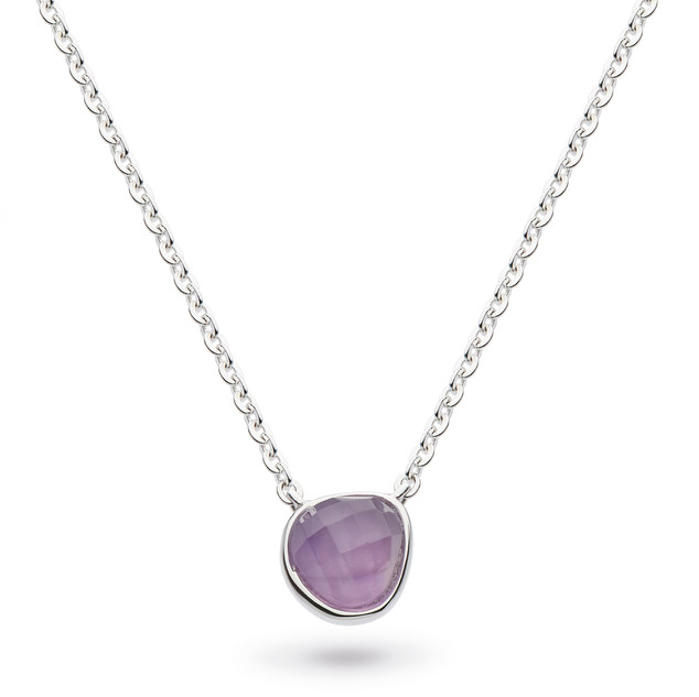 "Coast Pebble Amethyst Mini 17"" Necklace Sterling Silver Product code 9184AM  £58.00 NOW WITH 25% OFF £43.50"