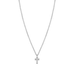 Gioie Cubic Zirconia Cross Necklace 146201/004 £48.00