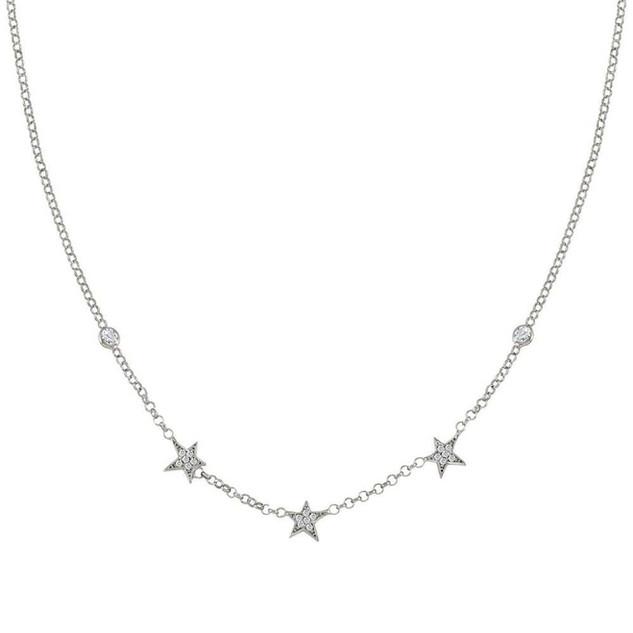 Nomination Stella Silver Three Star Necklace 146711/010 £59.00