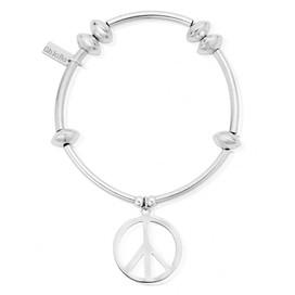 Noodle Disc Peace Bracelet - SALE 50% OFF - SOLD