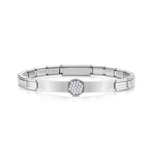 Nomination Trendsetter Cubic Zirconia Silver Bracelet 021120/020 £40.00