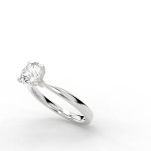 One Carat Platinum Diamond Solitare