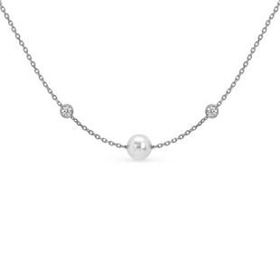 Nomination Bella Silver Single Pearl Necklace 142656/010 £39.00