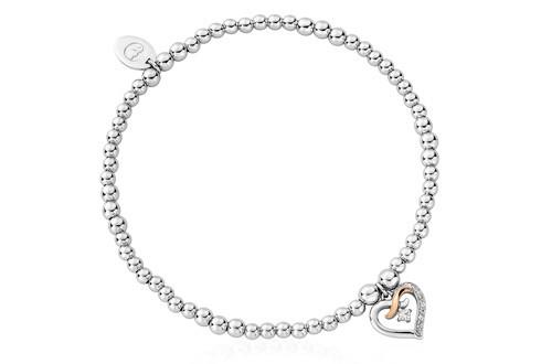 Clogau® Kiss Affinity Beaded Bracelet £119