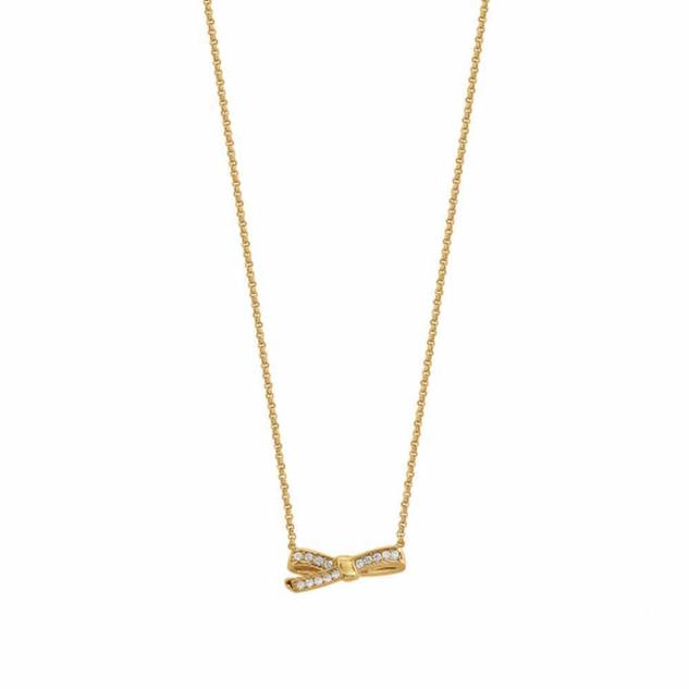 Nomination MyCherie Yellow Gold Bow Necklace 146304/012 £49.00 - SALE NOW £35